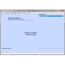 Sistema Software Contable Multiempresa Programa Contabilidad