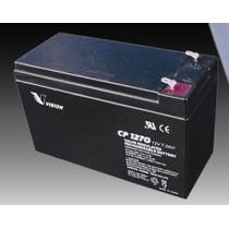 Bateria Gel Vision Cp1270 12v 7ah P/ Ups Juguetes Alarmas