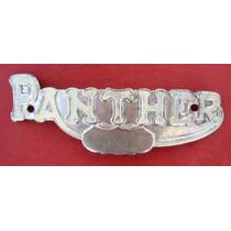 Panther Insignia De Moto Antigua Original