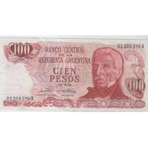 Billete 100 Pesos Ley, El Primero, Bottero 2383 Excelente