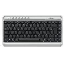Mini Teclado Omega Kb-2300 (usb/ps2)-silver/black-