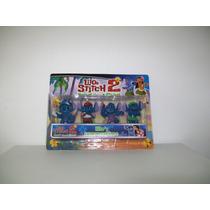 Lilo Y Stitch,muñecos X4 Ideal Regalo,decoracion Tortas $68