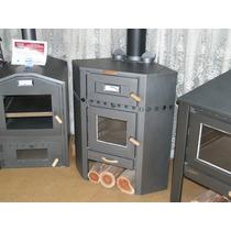 Lepen Rinconero Con Horno Lepen Calefactores, Estufa A Leña