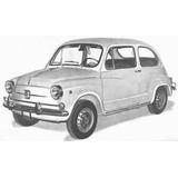 Fiat 600 Palanca De Cambio Nueva