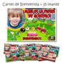 Souvenirs Iman Cumple Angry Birds + Cartel Bienvenida Foto