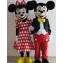 Alquiler Disfraz Mickey Mousse O Minnie 100 % Originales