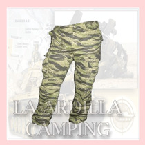 Pantalon Cargo Tactico Camuflado Tiger Strip /paint Ball -