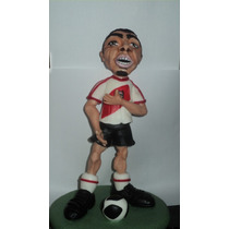 Trezeguet David Jugador De Futbol En Porcelana Fría