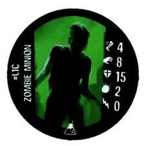 Horrorclix - #l1c Zombie Minion - Token Le - The Lab