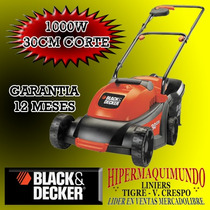 Cortadora De Cesped Electrica 1000 Watts Black Decker Gr3000