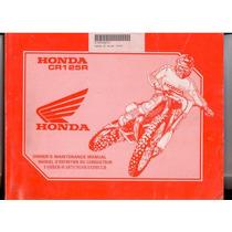 Manual De Servicios Honda Cr125r 92