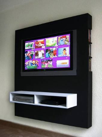 Mueble panel lcd tv led modular mesa de tv for Muebles para led 50 pulgadas
