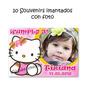 Hello Kitty Cumpleaños 10 Souvenirs Iman Con Tu Foto Divinos