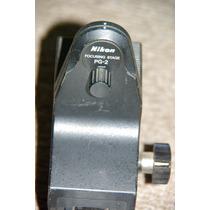 Pg2 Carril De Enfoque Para Fuelle Macro Nikon Original