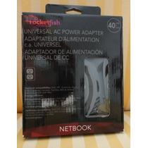 Netbooks: Rocketfish: Adaptador De Alimentacion Universal