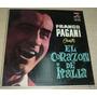 Franco Pagani Canta El Corazon De Italia Vinilo Argentino