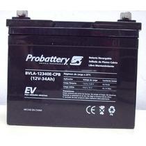 Bateria Acumulador De Gel De 12v 34ah Plomo-calcio Probatter