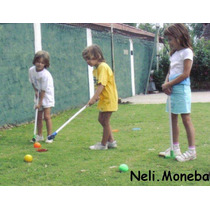 Juego Golf Pelota Pelotita Palo Hoyo Plaza Playa Jardin Dvd