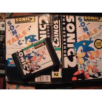 Juego De Sega - Sonic 2 - Con Lamina -