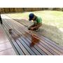 Deck Instalacion Completa Eucaliptus Premium Piso Con Cetol