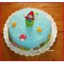 Torta De Mario Bross - Nintendo - Decoracion En Fondant