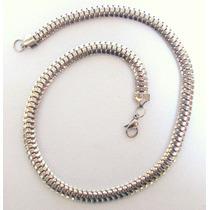 Cadena Collar De Acero X 50 Cm. Urbana Joyas