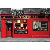 Poster Importado De The Temple Bar, Dublin - 90 X 60 Cm