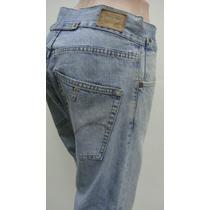 Levi`s Pantalon Capri Tl Jeans Elastizado Azul, Cintura 80cm