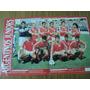 Argentinos Jrs ( Lamina ) / Solo Futbol N° 240 / 29 -1-1990