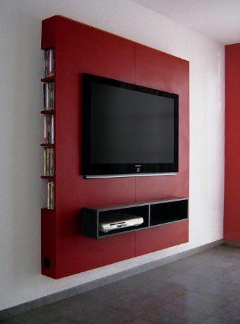 Mueble panel lcd tv led modular mesa de tv for Muebles para led 50 pulgadas