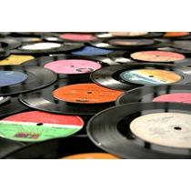 Lote 50 Discos De Vinilo Para Decoracion O Artesanias S/tapa