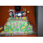 Tortas Artesanales Infantiles Casa Mickey 2 Pisos