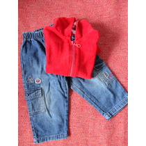 Pantalos Gimos Mas Saco Toalla Toddler Impecables! No Cheeky