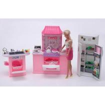 La Cocina De Gloria Para Muñecas Tipo Barbie En V. Crespo