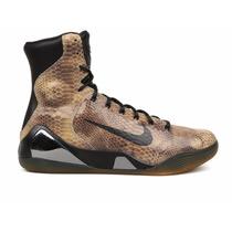 Botitas Nike Kobe Ix High Ext Qs Cuero Urbanas Reptil Unicas