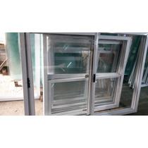 Ventana Balcon De Aluminio 180 X 200