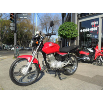 Honda Cg 150 Disco Full 2014 Impecable! Centro Motos Permuto