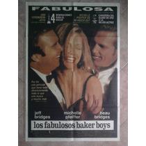 Los Fabulosos Baker Boys 1754 Michelle Pfeitfer 1.10 X 0.75