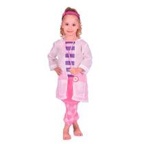 Doctora Juguetes Disfraz Para Nenas 3 Talles Estetoscopio