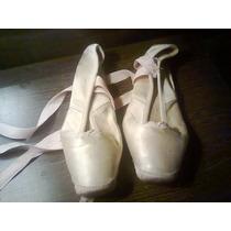 Zapatillas De Danzas Con Punta Marca Cascanueces Nro 35