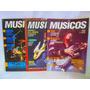 Lote De 3 Revistas Musicos Billy Cobham, Jaf, Sambora