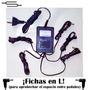 Transformador Fuente Regulada Para 5 Pedales 9v Ficha L 90°