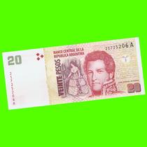 Argentina - Billete 20 Pesos Convertibles 2000 #3502 ¡ S/c!