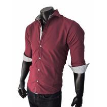 Camisas Hombre Entalladas Slim Fit Batista - Lanzamiento