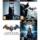 Batman Collection Ps3 | Digital Español Incluye 3 Juegos!