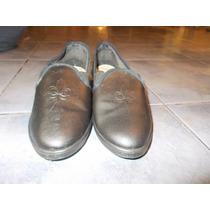 Lote De Zapatos De Señora (5 Pares) Usados Talle 37-38