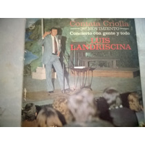 Luis Landriscina - Cantata Criolla - Long Play