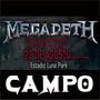 Entradas Megadeth Campo En El Luna Park - Envíos Sin Cargo