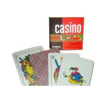 Naipes Casino X 50 Lavables Plastificados Villa Urquiza