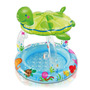 Pileta Pelotero Intex Piso Inflable Con Techo Ideal Balcon